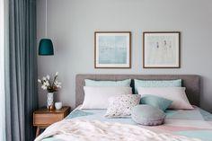 Belle #déco pour une #chambre à coucher ! http://www.m-habitat.fr/par-pieces/chambre/amenager-une-suite-parentale-2625_A
