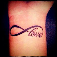 Women Tattoo Ideas: Infinity Tattoo On Wrist