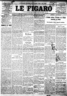 Le Figaro (French newspaper), June 29, 1914