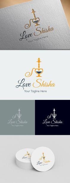 Love Shisha Logo Template on Behance