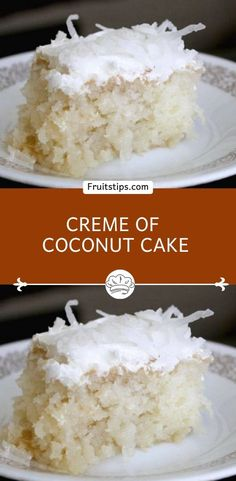 I'm going to confess that at some point in my life I was addicted to coconut. There is a good reason why vegans love coconuts, they are so versatile and is a great healthy alternative garten Easter recipes Best Coconut Cake Recipe, Coconut Recipes, Cream Of Coconut Cake, Coconut Cake From Scratch, Southern Coconut Cake Recipe, Coconut Cake Easy, Coconut Deserts, Cake Mix Recipes, Pound Cake Recipes
