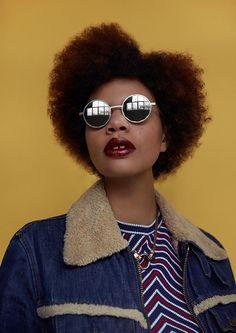 fc521657d2 Photo by Petra Kleis Styling by Ezra Shami Hair   makeup by Ayoe Nissen  Model Jade D econzac