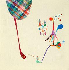Takashi Iwasaki - Embroidered Whimsy