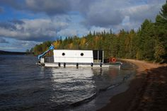 Book a unique holiday in the Lakeland of Finland with a self-driving houseboat! Houseboats, Self Driving, Finland, Book, Unique, Holiday, Vacations, Books, Holidays