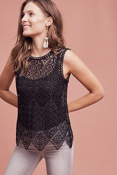 Lacework Shell - anthropologie.com