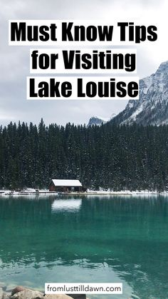 Must Know Tips for Visiting Lake Louse If you're visiting Lake Louise, Canada, you must read these tips especially if you want to find parking. Find out where to stay and what to do too. // PIN FOR LATER // … Alberta Canada, Banff Canada, Calgary, Canada Winter, Alberta Travel, Patagonia, Canada Destinations, Holiday Destinations, Vancouver