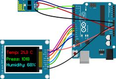 Factory Environment Monitoring System Arduino