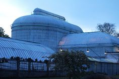 royal greenhouses in Brussels by oranges and apples, via Flickr