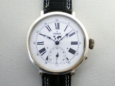 Tissot ティソ TISSOTアンティークポーセリンダイヤル腕時計 1920 Watch Antique ¥54000yen 〆07月21日