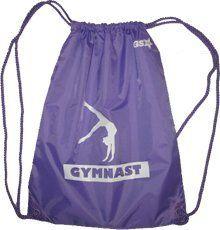 Gymnastics Drawstring Bag by DGS, http://www.amazon.com/dp/B00791Z6X4/ref=cm_sw_r_pi_dp_xUtlsb0GMM1CV