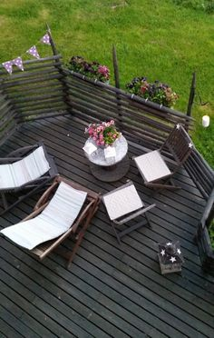 Image title Image Title, Outdoor Furniture Sets, Outdoor Decor, Some Ideas, Table Settings, Yard, Cottage, Patio, Fences
