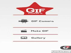 GIF Camera - GIF With Stickers  Android App - playslack.com ,  Most powerful Animated GIF Apps.New Christmas stickers & frames!# Simple usage1. Capture continous images with GIF camera.2. Decorate stickers and frames.3. Put any text you want.4. Save and enjoy!# Main functions1. Make Animated GIF directly from camera - Front & rear camera supported. - Flash on/off - Timer supported (10 sec)  - Landscape & Portrait - Number of captures and shutter speed are fully configurable…