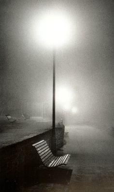 Night Walk, Surrey, England, Michael Kenna