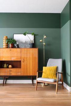 53 Best Wall Color Ideas For Living Room - - home-decor - living room wall color idea 181a8394b - Best Wall Colors, Room Wall Colors, Living Room Accents, Living Room Decor, Living Rooms, Mid Century Modern Decor, Cool Walls, Home Interior Design, Interior Ideas