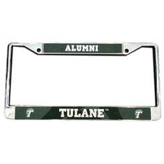 MCM Group® Tulane Alumni License Plate