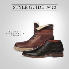 BUGATTI STYLE GUIDE | New year – new boots! #bugattifashion ##AW15/16 #menswear #boots #shoes #trend