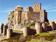 Castillo de Loarre. Huesca. Spain.