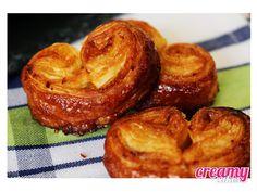 Creamy  Cakes: Palmiers à l'orange et miel * Palmiers de mel e laranja