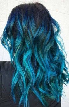 27 Long Ombre Hairstyles to Be Vibrant Fantastische Farbe Ombre Frisuren Vibrant Hair Colors, Cute Hair Colors, Pretty Hair Color, Beautiful Hair Color, Ombre Hair Color, Hair Color For Black Hair, Brown Ombre Hair, Brunette Color, Aesthetic Hair