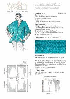 Poncho Knitting Patterns, Weaving Patterns, Knitted Poncho, Knitted Shawls, Knitting Stitches, Knit Patterns, Kimono Shrug, Sweater Hat, How To Purl Knit