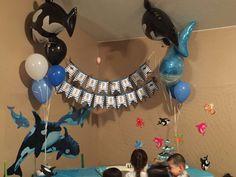 Killer whale Birthday Party