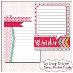 50% OFF TODAY Project Life Inspired Journal by DigiScrapDelights  #scrapbooking #winter #christmas #digiscrapdelights #happyholidays #crafts