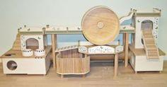 Wow - Aménagement de Hamster Wohnwelt pour un aqua