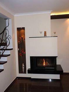 obudowy kominka - Szukaj w Google Gas Fireplace, Fireplaces, Foyers, Angles, Living Rooms, Google, Furniture, Home Decor, Fireplace Set