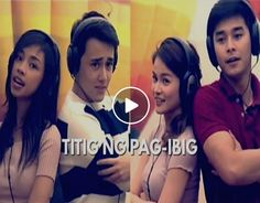 """Watch the full version of """"Titig Ng Pag-ibig"""" performed by Pinoy Big Brother """"Dream Team"""" love teams Maymay Entrata and Edward Barbers """"MayWard"""" with McCoy de Leon and Elisse Joson """"McLisse."""" """"Titig Ng Pag-ibig"""" is a live drama composed of PBB Dream Team housemates."""