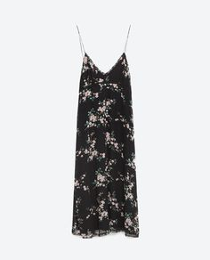 Image 8 of FLORAL CAMISOLE DRESS from Zara