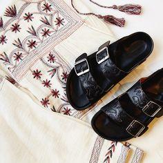 Feet on fire. #isabelmarant #perfectpairs