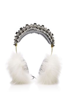 Embellished Headphones by DOLCE & GABBANA Now Available on Moda Operandi