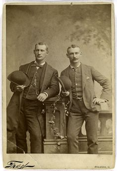 Ed Andrews, Philadelphia Quakers [1884] and Sam Barkley Toledo Blue Stockings [1884?] (1883?)