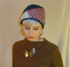 Sitting Pretty Cloche Hat Knitting Pattern (only $1)