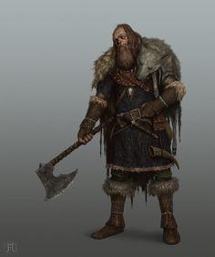 ArtStation - Northern Warrior, Igor Krstic