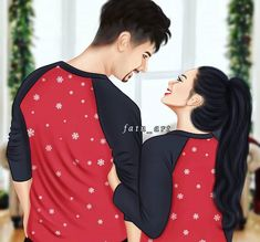 Love Couple Images, Love Cartoon Couple, Cute Love Pictures, Cute Profile Pictures, Anime Love Couple, Art Pictures, Couple Sketch, Cute Couple Drawings, Girly Drawings