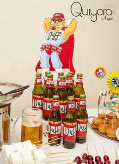 springfield Party, fiesta de los simpsons, fiesta temática, las mejores fiestas, cerveza duff, duffman, quiyara artwi.   PEDIDOS: quiyara.artwi@gmail.com