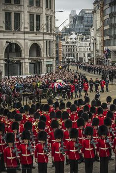 The Funeral of Lady Margaret Thatcher, via Flickr.