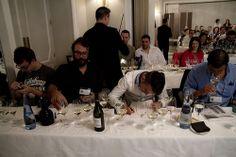 Los sumilleres participaron en al taller de Azpilicueta horas antes de enfrentarse a la 'Copa Negra'