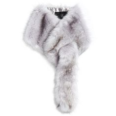Unreal Fur Silver Lining Grey Scarf ($69) ❤ liked on Polyvore featuring accessories, scarves, grey, grey scarves, gray shawl, faux fur scarves, fake fur shawl and faux fur shawl