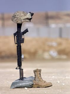 Fallen Soldiers Battle Cross