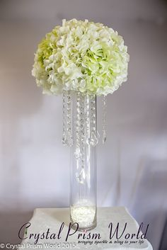 DIY How To Make A Wedding Centerpiece with Crystals on a Budget – Crystal Prism World