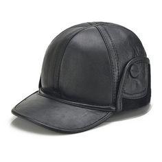8fe153d6c06 New Arruval Elderly Leather Hat Men s Winter Outdoor Cap Elder Warm Winter  Ear Protection Cap New Year Gift