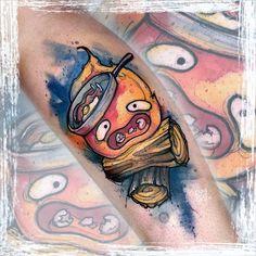 Russell Van Schaick Tattoos — 🥓 🔥 . . . . . #disney #disneytattoo... Disney Watercolor Tattoo, Studio Ghibli Tattoo, Tattoo Spirit, Badass Tattoos, Disney Tattoos, Tattoo Artists, Vans, Instagram, Doodles