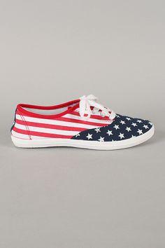 Sneaker Estampa Americana