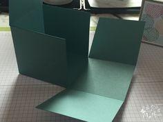 Stampin Up, Anleitung, Viereckige Box, One Sheet Box (3) (Kopie)