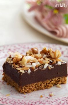 Coconut-Fudge Bars #recipe