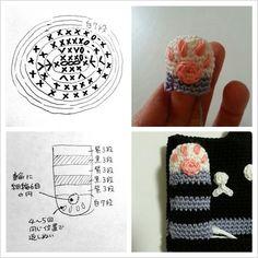 ネコのスマホポーチの作り方|編み物|編み物・手芸・ソーイング