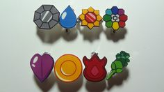 Kanto Badges | 21 Excellent Pieces Of Pokémon Merch You Can Buy On Etsy