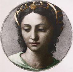 c. 1517. depicting Bona Sforza.